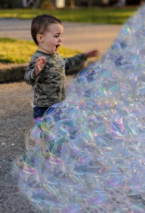bubble entertainer near me